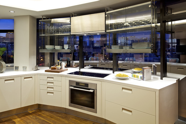 Harbor Club Residence contemporary-kitchen