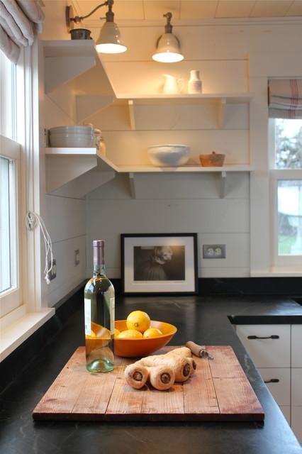 Harbor cottage maine rustic kitchen portland maine - Bedroom furniture portland maine ...