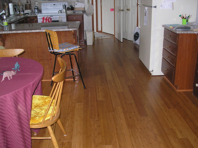 Hardwood Flooring traditional-kitchen