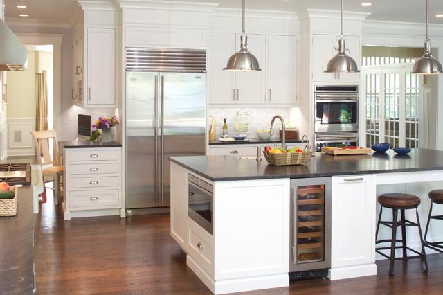Hardworking Kitchen - Transitional - Kitchen - new york - by JWH ...