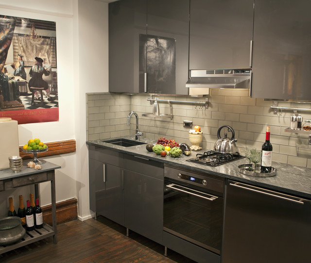 Kitchen Cabinets New York: Harlem Townhouse-Apartment