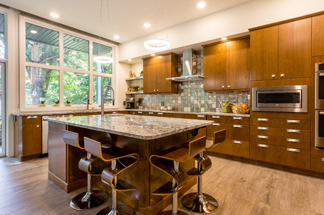Harlow Showhome Contemporary Kitchen Calgary By Design Kitchens Countertops