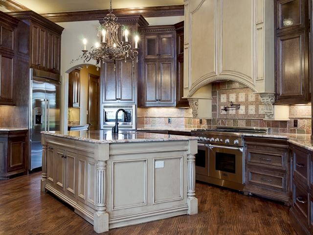 harrell custom home kitchen kitchen dallas