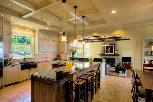 Harrison Street Residence Traditional Kitchen Seattle By Roberts Group