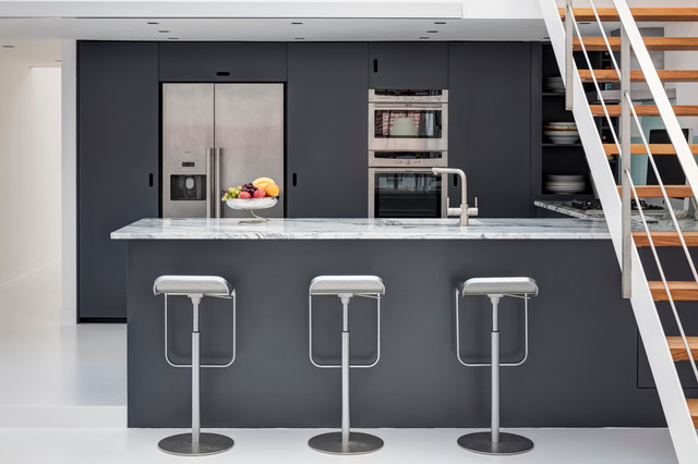 Harrow road contemporary kitchen london by bbg inc for Modern kitchen london