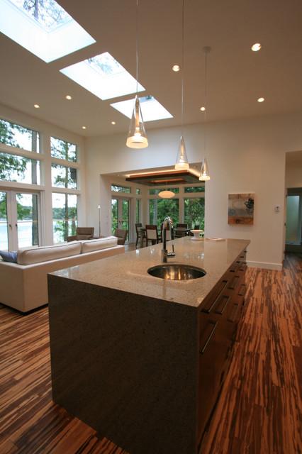 Hart Road contemporary-kitchen