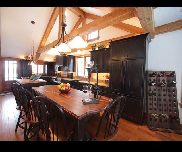 Hartford Kitchen Remodel Addition Traditional Kitchen Milwaukee By Barenz Builders