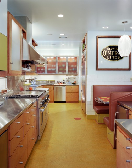 Hartford Road House eclectic-kitchen