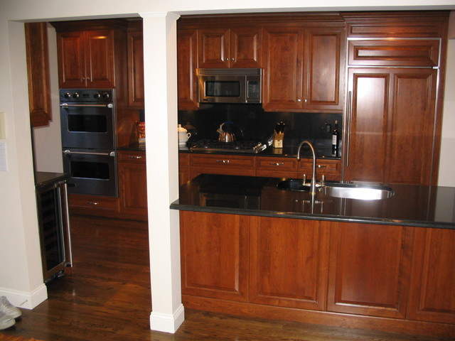 Hartsdale Townhouse traditional-kitchen