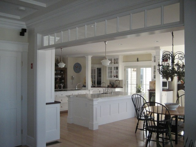 Harvard, MA custom build (frame to finish!) traditional-kitchen