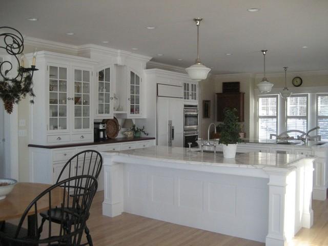 Harvard, MA custom build (frame to finish!) traditional-kitchen