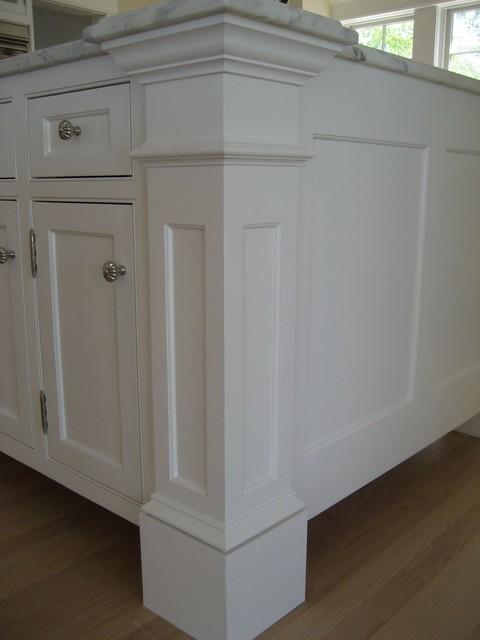 Harvard Ma Custom Build Frame To Finish Traditional Kitchen Boston