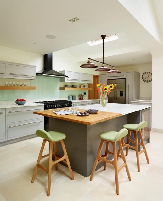 Harvey Jones - Linear Kitchens eclectic-kitchen
