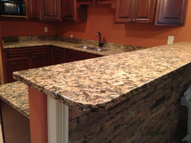 Harwood Family builder foreclosure remodel traditional-kitchen