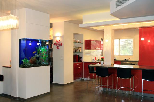 interior kitchen the home tel aviv design | Hasharon Israel - Contemporary - Kitchen - Tel Aviv - by ...