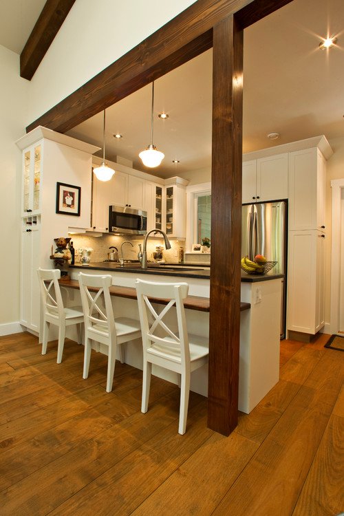 faux wood ceiling beams ideas - What size are the horizontal and vertical wooden beams