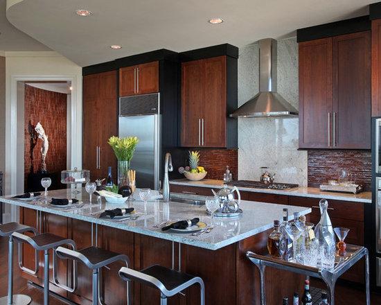 Modern art deco interior kitchen design ideas remodels for Art deco kitchen designs