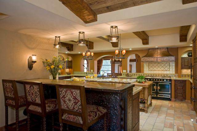 Haute Hacienda Mediterranean Kitchen San Diego By Hamilton Gray Design Inc