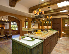 Haute Hacienda mediterranean kitchen