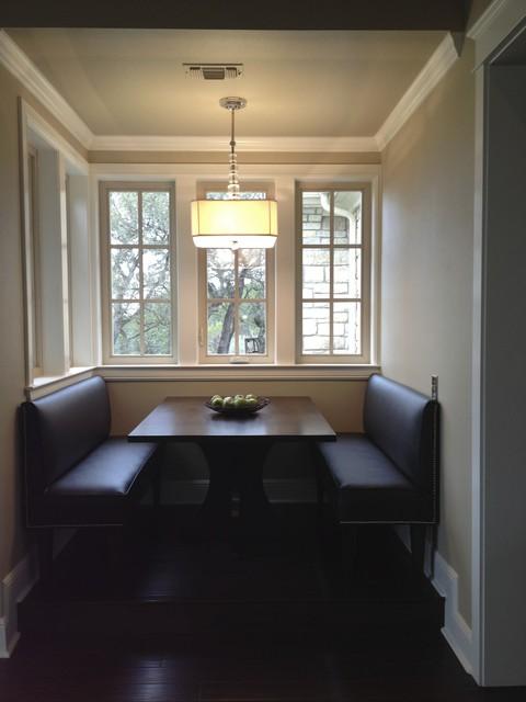 Havenwood - Banquette traditional-kitchen