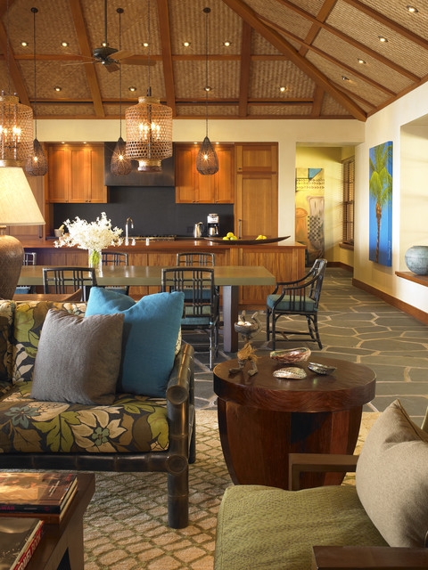 Hawaii tropical-kitchen