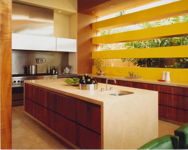 Hawaii residence modern kitchen hawaii by the for Kitchen design hawaii