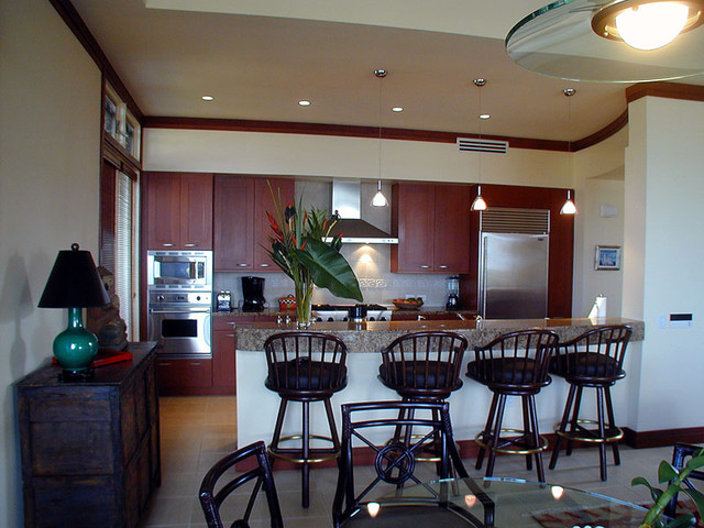 Hawaiian Designs contemporary kitchen