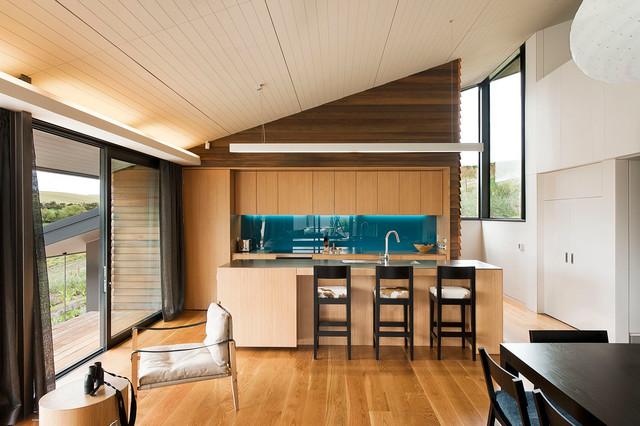 Hawkesbury managers house wanaka contemporary kitchen for Kitchen design dunedin