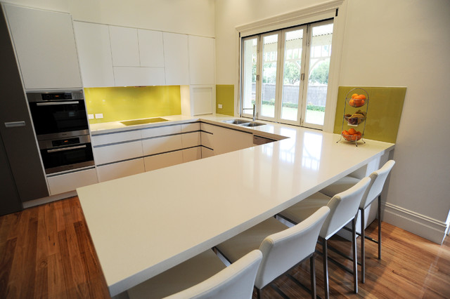 Hawthorn Residence contemporary-kitchen