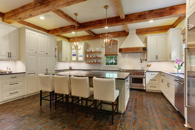 Hays Town Inspired Home: REVISITED - Farmhouse - Kitchen - New Orleans - by Ourso Designs