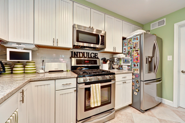 Colonial 24x18 Addition and Renovation to 24x18 existing home traditional-kitchen
