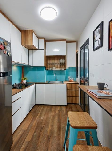 HDB 4 Room BTO Contemporary Kitchen