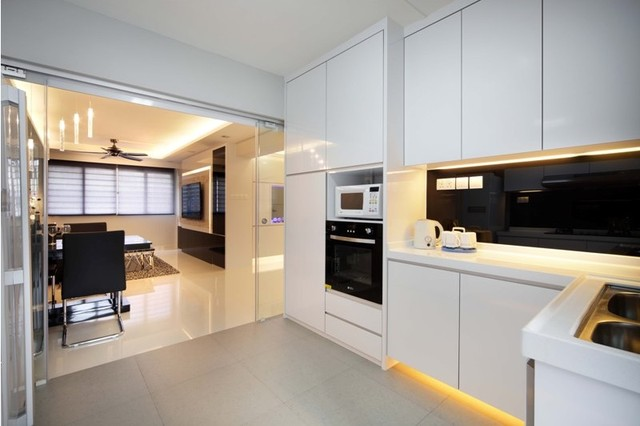 Hdb kitchen cabinet designs joy studio design gallery best design Kitchen design in hdb