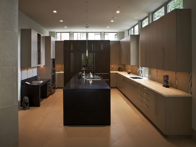 Hdc Osborne Cabinets And Millwork Contemporary Kitchen Houston By The Houston Design