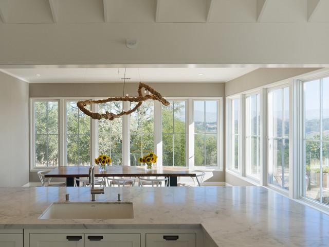 Healdsburg Residence farmhouse-kitchen