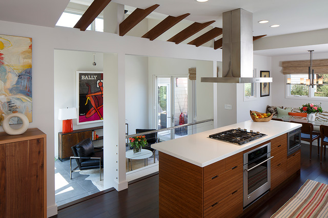 Healdsburg Transformation contemporary-kitchen