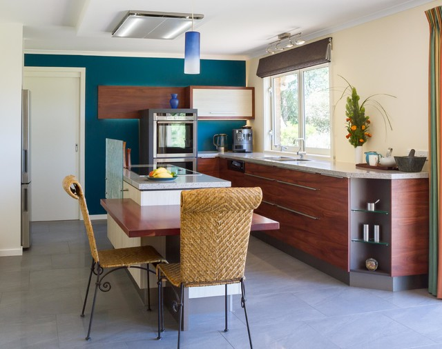 Healesville Kitchen Contemporary Kitchen Melbourne By The Kitchen Design Centre