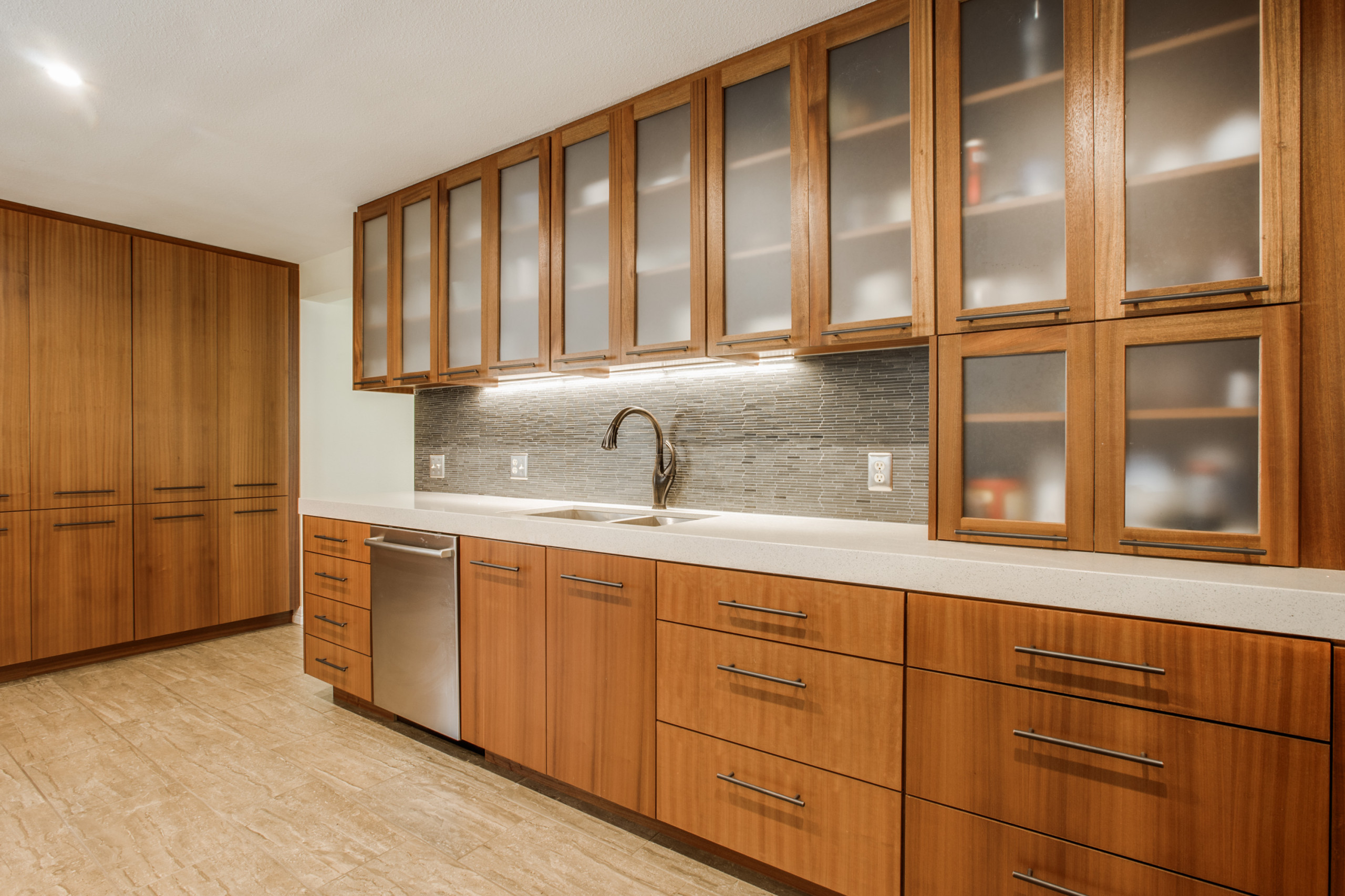 Exotic Wood Kitchen Cabinets : Hot Trends In Luxury ...