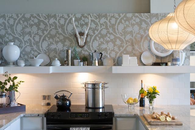 contemporary kitchen by Heather Garrett Design