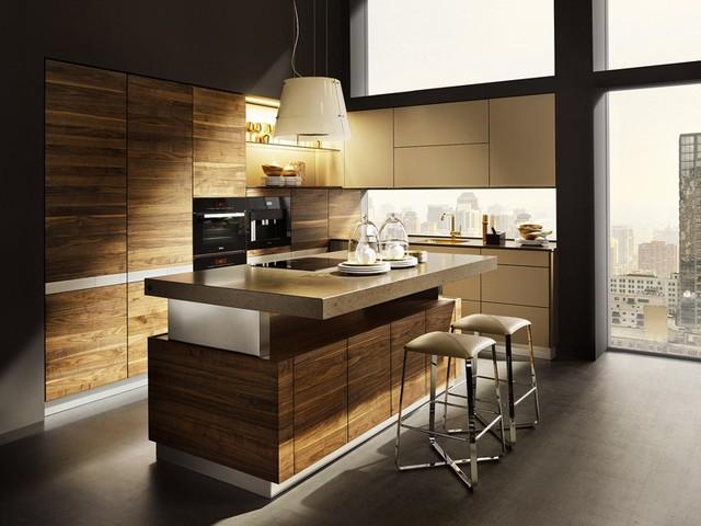 Height-adjustable Kitchen Island - Contemporary - Kitchen ...