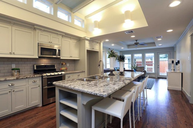 Heights Bungalow Remodel - Craftsman - Kitchen - houston - by Jamie House Design