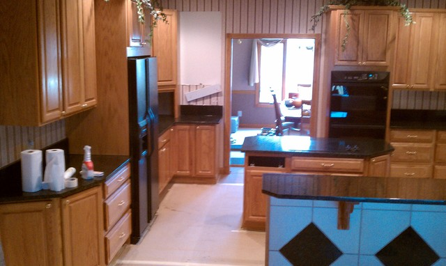 Helmart 2 Kitchens in 1 Home Hamilton Ohio traditional-kitchen