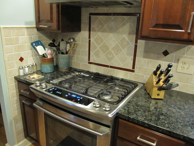 Helmart Jade Green Granite  Traditional  Kitchen  cincinnati  by