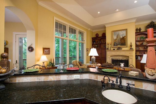 Hendersonville, Yeager Residence traditional-kitchen
