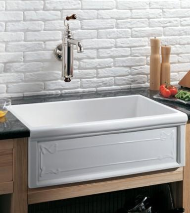 Herbeau Farmhouse Kitchen Sinks - Traditional - Kitchen - Houston ...