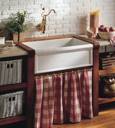 Herbeau Farmhouse Kitchen Sinks traditional kitchen sinks