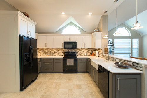 POLL: Two toned kitchen cabinets? YES or NO?