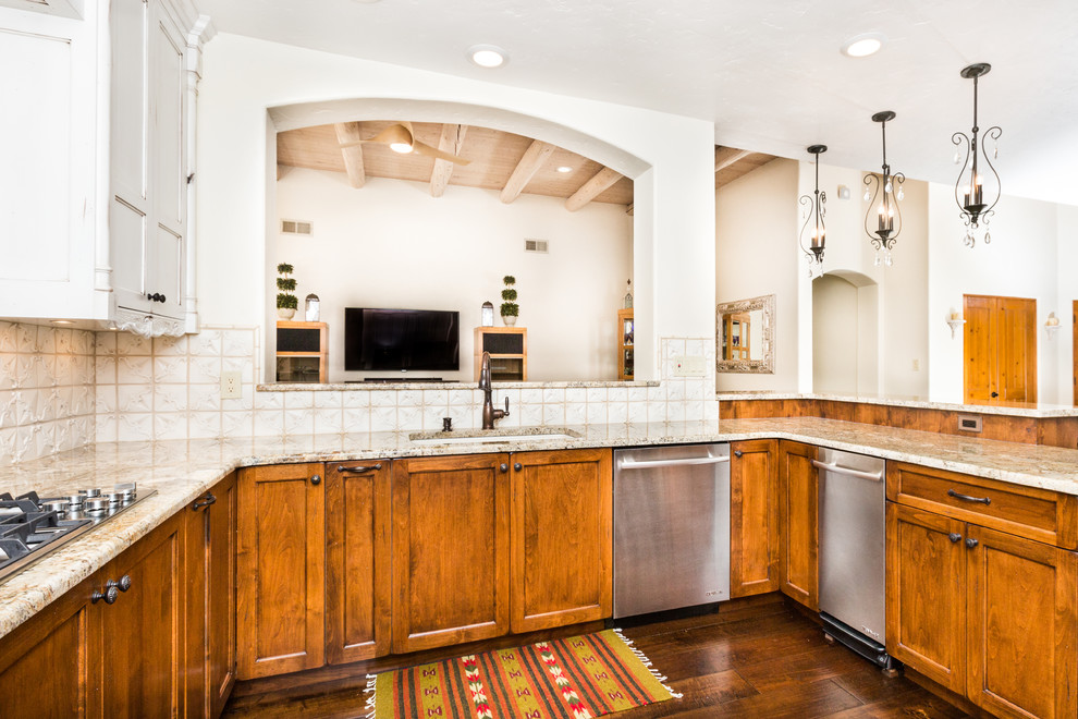Herman Residence - Southwestern - Kitchen - Albuquerque ...