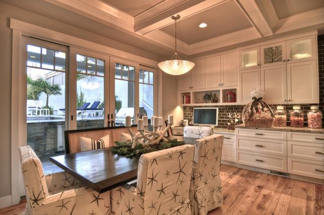 Hermosa Beach Home beach-style-kitchen