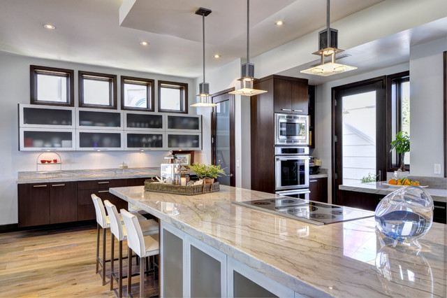 Hermosa Beach Modern Home Contemporary Kitchen Los Angeles By Home Beach Designs